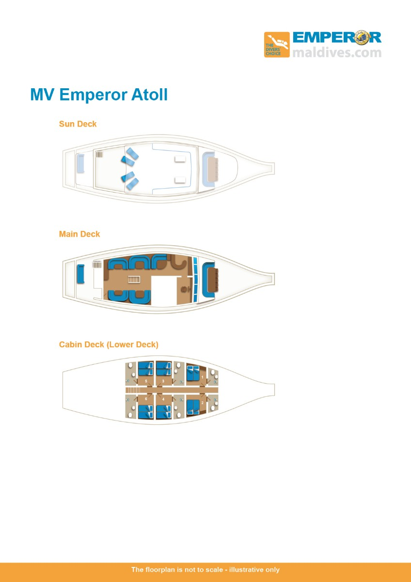 MV Emperor Atoll Floor Plan