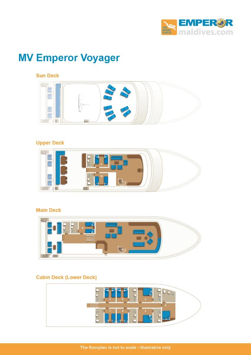 MV Emperor Voyager Floor Plan